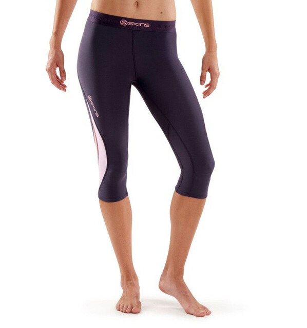 Skins W's DNAmic Thermal 3/4 Tights Dove Grå
